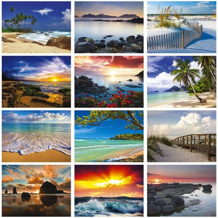 2019 Seascapes Wall Calendar