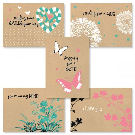 Everyday Kraft Card Value Pack