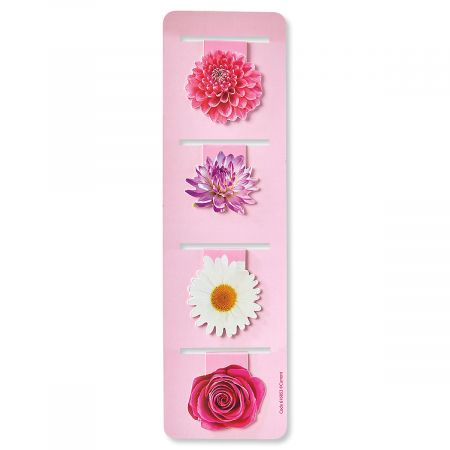 Magnetic Flower Bookmarks - BOGO