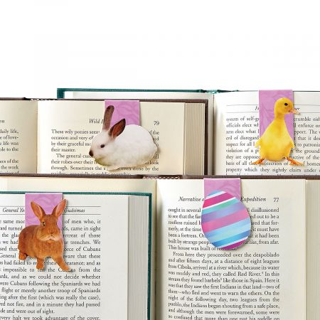 Magnetic Easter Bookmarks