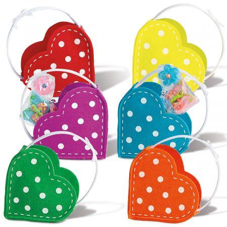Valentines Felt Treat Bags