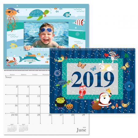 2019 Celebrations Scrapbook Wall Calendar