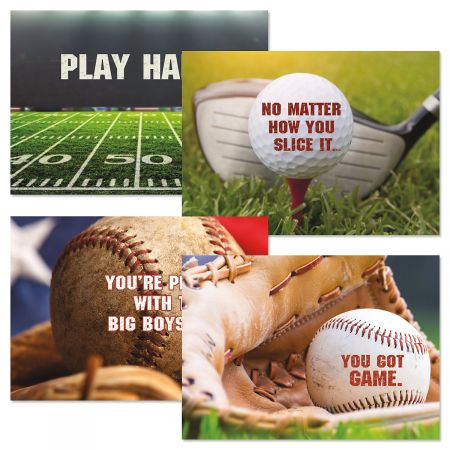 Pastime Birthday Cards