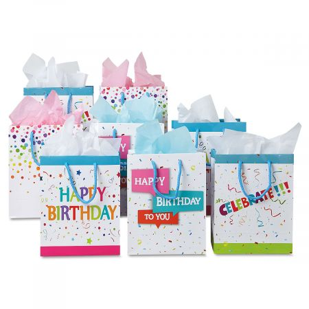 Birthday Confetti Gift Bags Current Catalog