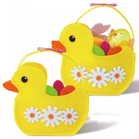 Felt Easter Ducks Bags