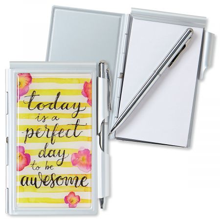 Awesome Day Notepad & Pen Set