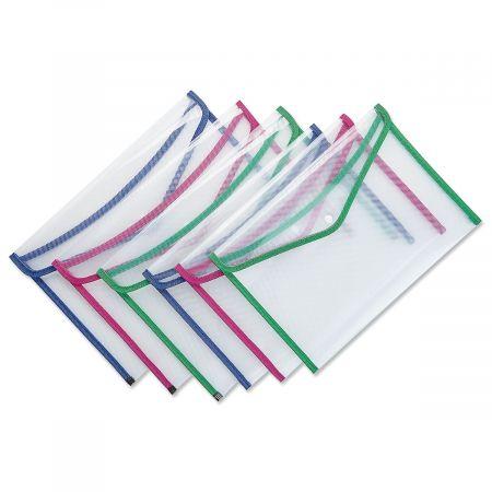 Clear Envelope-Style File Folders
