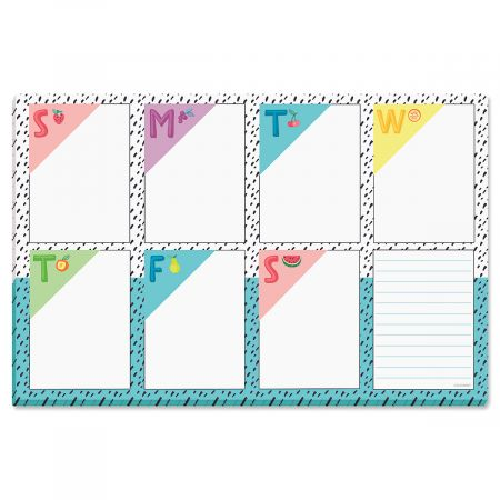 Magnetic Fruity Calendar Pad