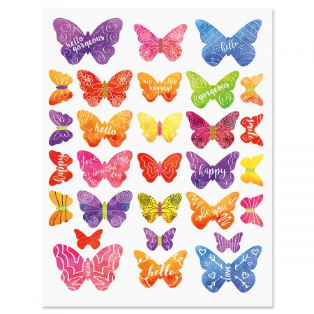 Butterfly Days Stickers - BOGO