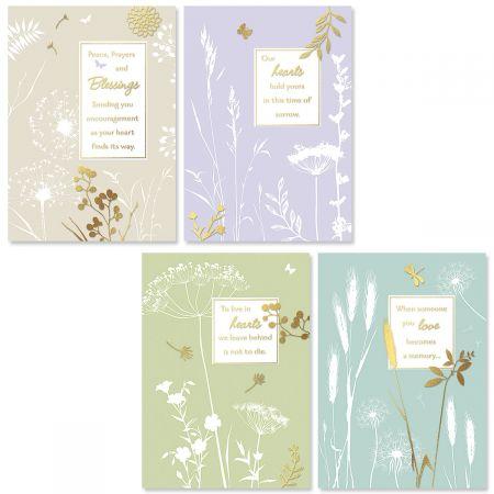 Botanical Sympathy Cards