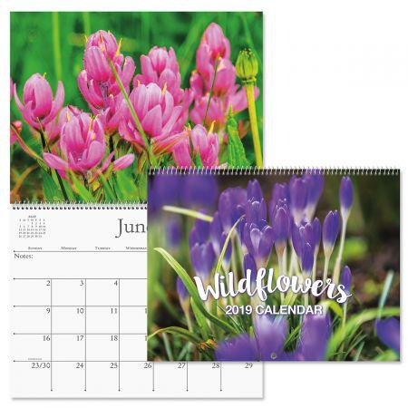2019 Wildflowers Wall Calendar