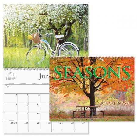 2019 Seasons Wall Calendar