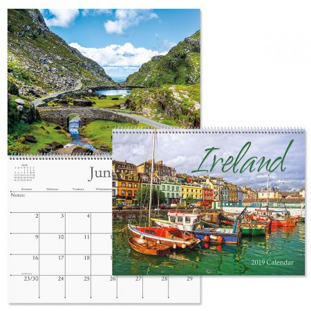 2019 ireland wall calendar 2019 ireland wall calendar