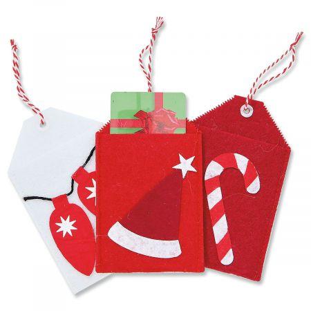 Christmas Treat Bag Gift Card Holders