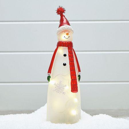 Light-Up LED Snowman