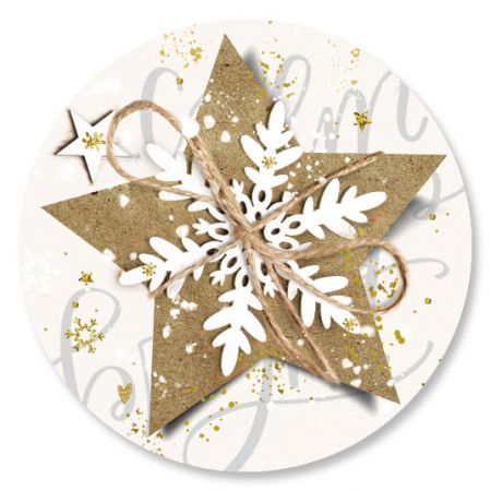 Christmas Star Seals