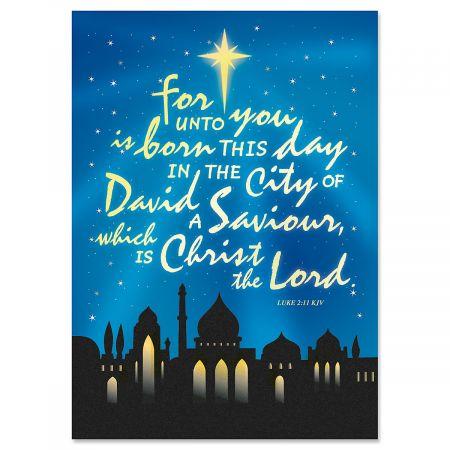 Bethlehem Christmas Cards - Nonpersonalized
