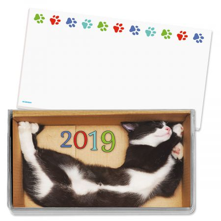 2019 CATtitude Pocket Calendar