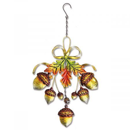 Metal Acorn Decoration
