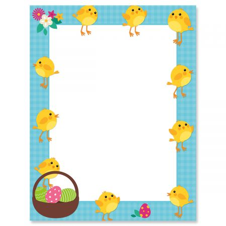 My Peeps Easter Letter Papers