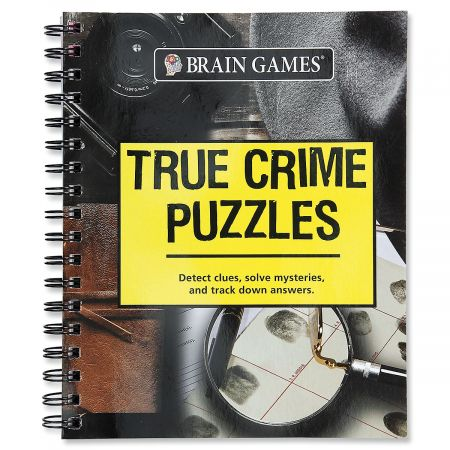 True Crime Puzzles Brain Games®