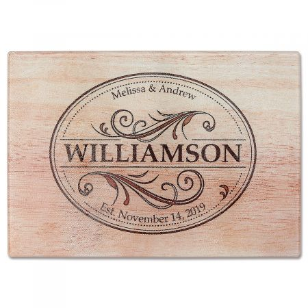 Established Tempered Glass Cutting Board
