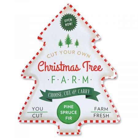 Platter Christmas Tree
