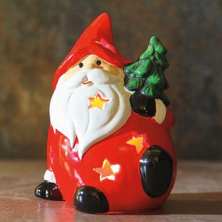 LED Santa Figurine