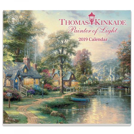 2019 Painter Of Light Calendar By Thomas Kinkade Current Catalog