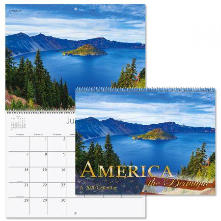 2020 America the Beautiful Wall Calendar