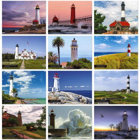 2020 Lighthouses Wall Calendar
