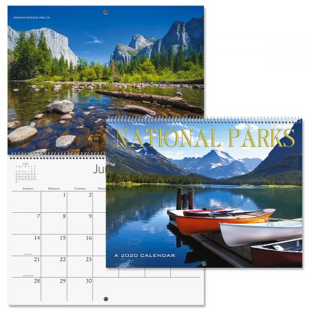 2020 National Parks Wall Calendar