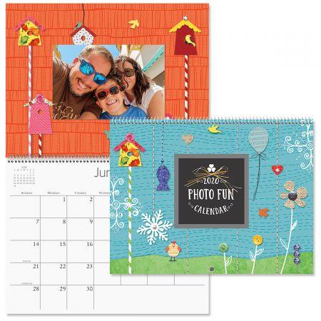 Calendario Snoopy 2020.2020 Photo Fun Scrapbooking Calendar