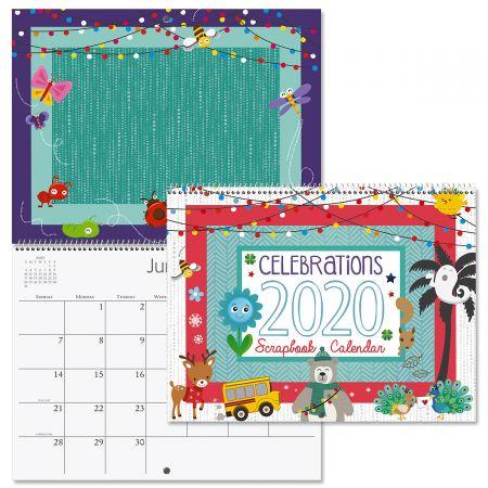 2020 Celebrations Scrapbooking Calendar