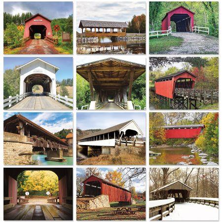 2020 Covered Bridges Wall Calendar