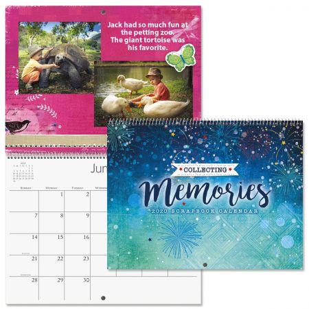 2020 Textures Scrapbooking Calendar