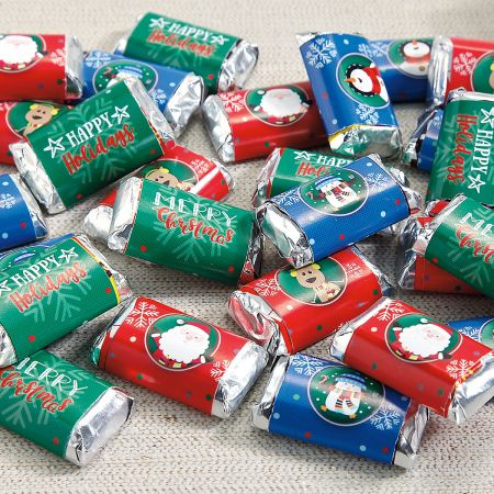 Merry Christmas Mini Wrappers