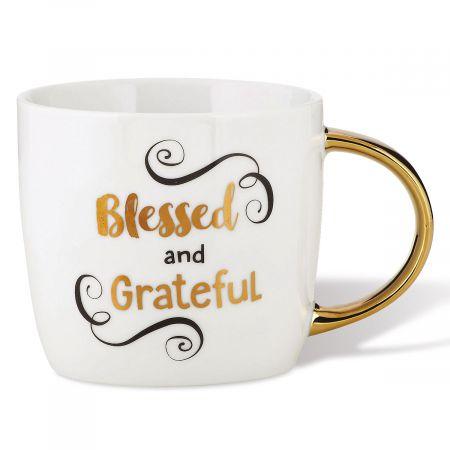 Blessed and Grateful Mug