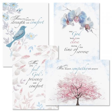 Sympathy Comfort Cards and Seals