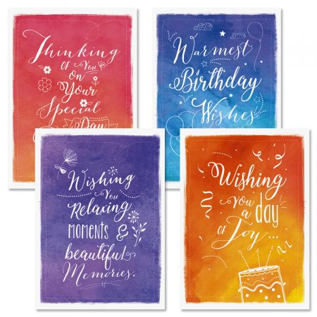 Birthday Wishes Cards And Seals