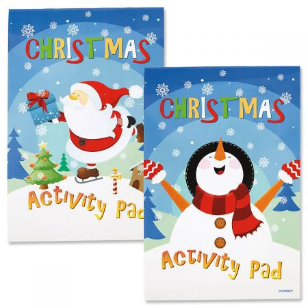 Merry Christmas Activity Pads