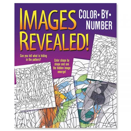 Images Revealed Color-By-Number Book