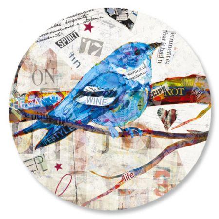 Newspaper Collage Seals