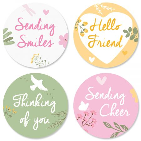 Sunshine and Smiles Seals (4 Designs)