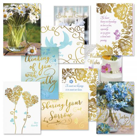 All Occasion Deluxe Foil Greeting Cards Value Pack