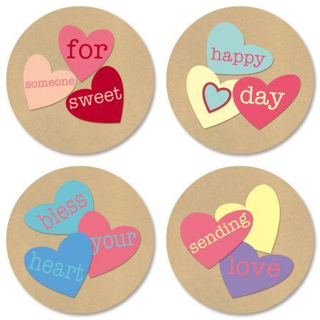 Jar of Hearts Seals (4 Designs)