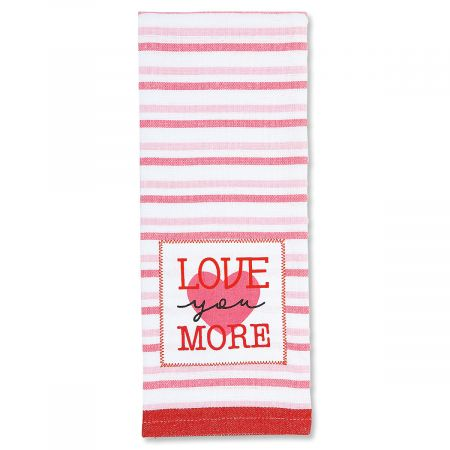 More Valentine Kitchen Towel