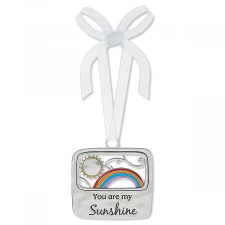 You Are My Sunshine Enameled Ornament