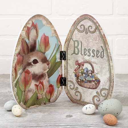 Blessing Egg Tabletop Decoration