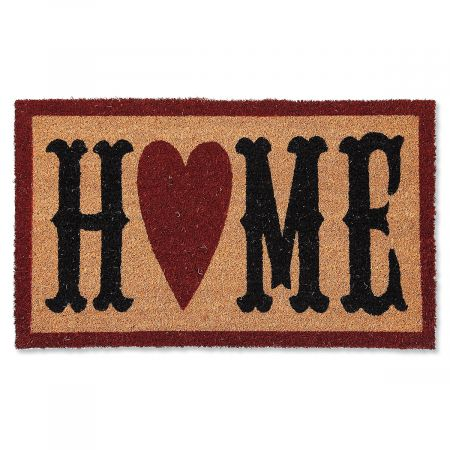 Home Heart Coir Doormat